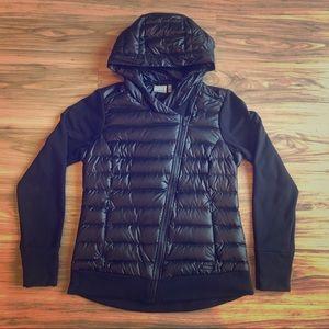 Athleta Hooded Cross Zip Jacket